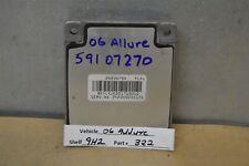06-11 Buick Allure Transmission Control Unit TCU 24235754 Module 22 9H2