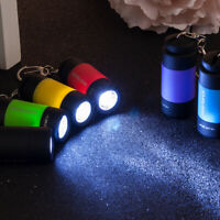 Waterproof Rechargeable USB LED Light Flashlight Lamp Torch Pocket Keychain New