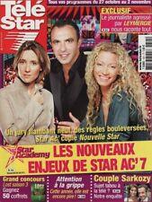 Télé Star N°1621 - 22/10/2007 - Nikos - Sylvie Vartan - Michelle Pfeiffer