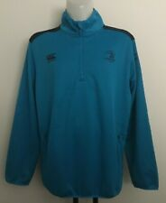 LEINSTER RUGBY THERMOREG 1/4 ZIP TOP LIFFEY BLUE BY CANTERBURY SIZE MEN'S XXXL