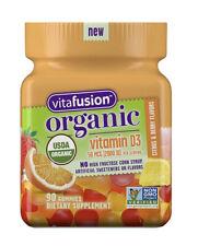 Vitafusion Organic Vitamin D3 Citrus Berry 50 mcg (2000 IU) 90 Gummies 05/21