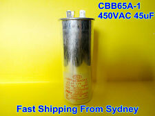 CBB65A-1 450VAC 45uF Air Conditioner Appliance Motor Run Capacitor **NEW**