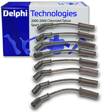 Delphi Spark Plug Wire Set for 2000-2006 Chevrolet Tahoe - Ignition Coil xu