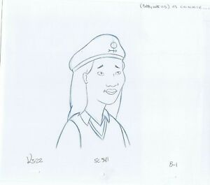 King of the Hill Connie Original Art Animation Production Pencils K3-22 SC 341