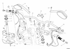 DUCATI Multistrada control del acelerador - 65420311A