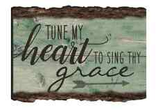 Tune My Heart Sing Thy Grace Magnet Barky Pallet Rustic Primitive P Graham Dunn