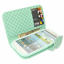 Patterned Synthetic Leather Card Pocket Cases & Covers for Samsung Galaxy S III