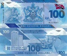 Trinidad and Tobago 100 Dollars (2019) - Bird of Paradise/Polymer Note/pNew UNC