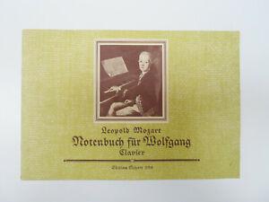 2 Musik Noten Notenhefte Klavier Mozart + Tanzbüchlein