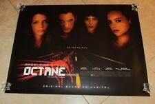 OCTANE movie poster MISCHA BARTON, JONATHAN RHYS MEYER, MADELEINE STOWE