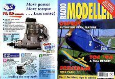 RADIO MODELLER MAGAZINE V32 #5 PETER HOLLAND'S BREEZEASE TRAINER FREE PLANS