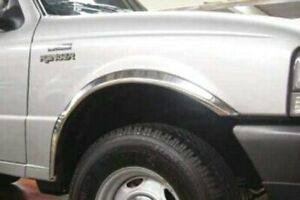 For Ford Ranger 1993-2011 Stainless Steel Polished Fender Trim