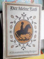 F.H. Burnett: Der kleine Lord (K.M. Schultheiß) K. Thienemanns Kinderbuch