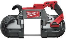 """Cordless Band Saw Power Tool-Only Deep Cut Portable Brushless Keyless 1/2"""" 18V"""