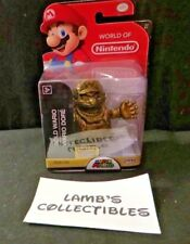 "World of Nintendo Gold Wario 2.5"" Walgreens exclusive Jakks Pacific figure toy"