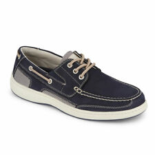 Dockers Mens Beacon Leather Casual Rubber Sole Sport Boat Shoe with NeverWet