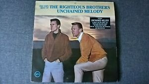 THE RIGHTEOUS BROTHERS - THE VERY BEST OF...  (UNCHAINED MELODY) .          LP.