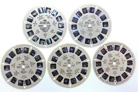 Lot Of 5 United States National Parks Zion 1948 Sawyers Reels View Master S440