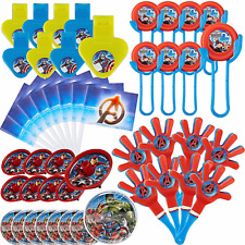 Avengers ASSEMBLE Marvel Heroes 48 pc Value Party Favor Pack BIRTHDAY Supplies