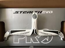 Pro Stealth Evo Carbon Lenker/Vorbaueinheit 90/400mm Weiß Anatomisch OVP Neu