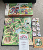 Vintage Cabbage Patch Kids Board Game Bicycle Race 1990 Milton Bradley Complete