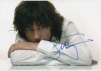 Jean-Michel Jarre signed 8x12 inch photo autograph
