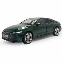 1:32 2020 Audi A7 Die Cast Modellauto Auto Spielzeug Model Sammlung Grün Kinder