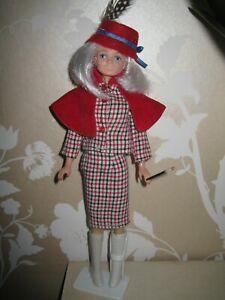Lady Penelope thunderbirds doll,  re root hair, original suit