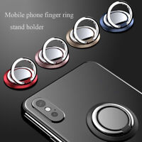 Support Socket Mobile Phone Stand Finger Ring Holder Car Bracket 360 Rotation~
