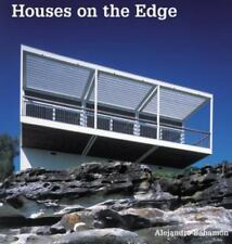 HOUSES ON THE EDGE by Alejandro Bahamón 2003 Hardcover Shrinkwrap Sealed Perfect