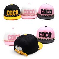 COCO Kette Gürtel Kinder Jungen Mädchen Basecap Mütze Baseball Cap Hiphop Kappe