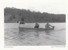 "*Postcard-""Hunting Party"" -Water Fowl- /Lake of Ozarks Park/ *Missouri (A42-2)"
