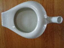 Antique Vintage Porcelain Ceramic Ironstone Chamber Pot Bed Pan Urinal w Spout