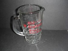 "RAVENHEAD GLASS ""OLD HIGHLAND BLEND SCOTCH WHISKY"" WATER JUG"