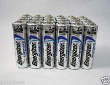 100 Pcs Energizer AA L91 Ultimate Lithium 1.5V Batteries Exp. 2036