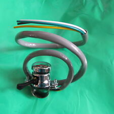 new GREY WIRE CLAMP ON chrome push top HORN/KILL SWITCH+DIP LEVER-LUCAS no31563