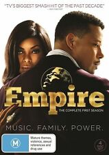 Empire - Season 1 (DVD, 4 Disc Set) NEW R4 Series