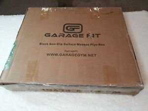 Garage Fit Black Wood Plyo Box - 16/20/24 3 sizes in 1