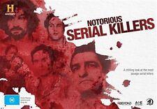 Notorious - Serial Killers  ( 4 DVD Set ) BRAND NEW REGION 4