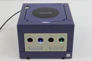 Nintendo Gamecube Console Only Indigo Purple XENO Region Free LED Mod GC286