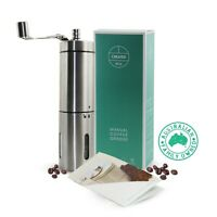 Manual Coffee Grinder/Mill Ceramic Burrs Stainless Steel for hand ground coffee