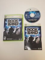 Xbox 360 Rock Band - Game Only FAST SHIPPING Rockband Complete W/ Manual