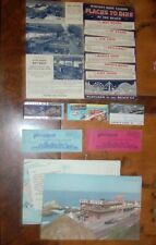 CLIFF HOUSE, PLAYLAND, TICKETS, HOT HOUSE MENU, CREDIT CARD, SAN FRANCISCO, ETC.