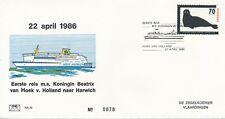 FHE nr. 79 - 1986 - Eerste reis m.s. Koningin Beatrix
