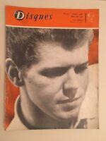 Revista Discos N º 123 Octubre 1961 Van Cliburn