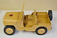 GI Joe Desert Patrol Adventure Jeep Vintage Hasbro 1960-70's? (missing pieces)