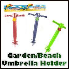 Garden/beach parasol and umbrella holder gound spike base 031357
