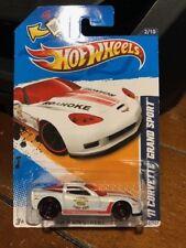 2012 Hot Wheels HW Main Street '11 Corvette Grand Sport #162
