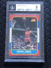 1986-87 Fleer Basketball #57 Michael Jordan RC Rookie HOF BGS 9 w/ (2) 9.5's