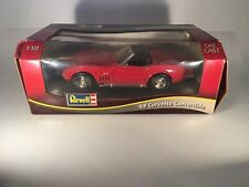 Revell 1969 Chevrolet Corvette Convertible 1:18 Die-Cast Scale Red